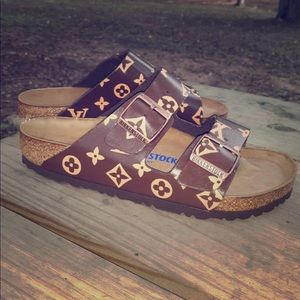 Louis Vuitton Birkenstock's